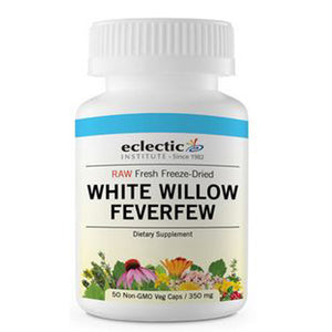 White Willow Feverfew 90 Caps by Eclectic Institute Inc (2590054449237)