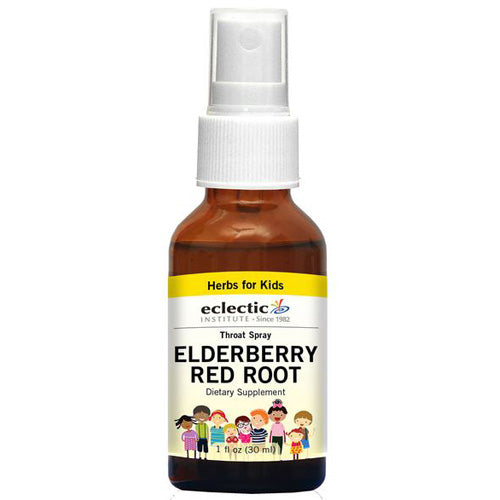 Elderberry Red Root Spray 1 OZ by Eclectic Institute Inc