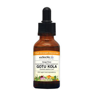 Gotu Kola with Vitamin C Orange 1 Oz Alcohol free by Eclectic Institute Inc (2583954784341)
