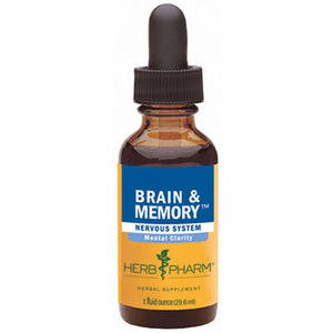 Brain & Memory Tonic 4 oz by Herb Pharm