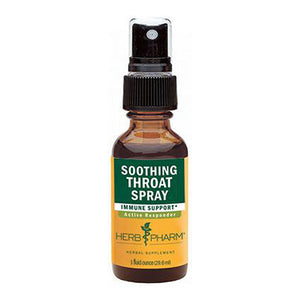 Soothing Throat Spray 1 Oz by Herb Pharm