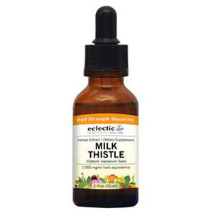 Milk Thistle 2 Oz Alcohol free by Eclectic Institute Inc (2584042242133)