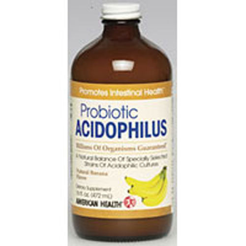 Acidophilus Culture Banana 16 Fl Oz by American Health
