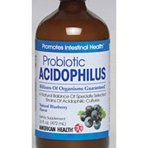 Acidophilus Culture Blueberry 16 Fl Oz by American Health (2583969595477)