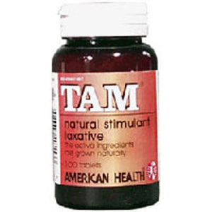 Tam Herbal Laxative 100 Tabs by American Health (2588662366293)