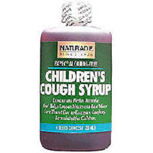Childrens Cough Syrup 4 FL Oz by Naturade (2583995613269)