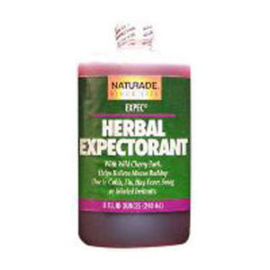 Herbal Expectorant Cough Syrup Cherry flavor, 8.8 OZ by Naturade (2588694216789)