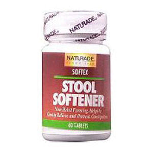 Softex Stool Softener 60 Tabs by Naturade