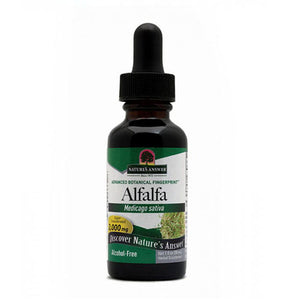 Alfalfa ORGANIC ALCOHOL FREE,1 OZ by Nature's Answer (2588696903765)