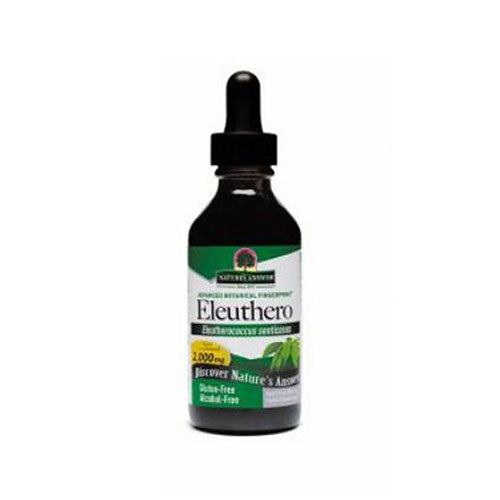 Siberian Eleuthero Alcohol Free Extract 2 FL Oz by Nature's Answer