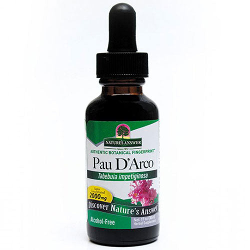 Pau Darco Alcohol Free Extract 1 FL Oz by Nature's Answer