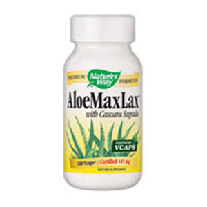 Aloe Maxlax 100 Caps by Nature's Way (2584001708117)