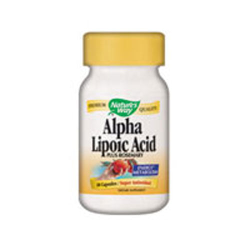 Alpha Lipoic Acid 60 Caps by Nature's Way