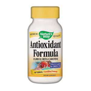 Antioxidant Formula 60 Caps by Nature's Way (2584001839189)