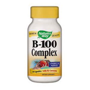 B-100 Complex 100 Caps by Nature's Way (2584002199637)