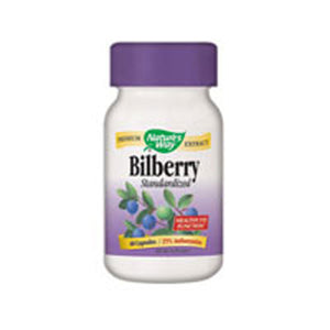 Bilberry Standardized Extract 90 Caps by Nature's Way (2584002494549)