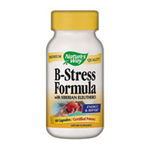 B-Stress Formula 100 Caps by Nature's Way (2584002920533)