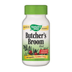 Butcher's Broom 100 Caps by Nature's Way