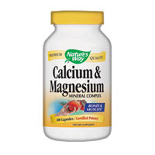 Calcium & Magnesium 250 Caps by Nature's Way