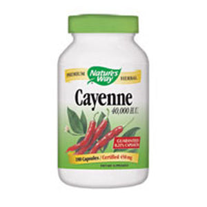 Cayenne Pepper 180 Caps by Nature's Way (2584003805269)