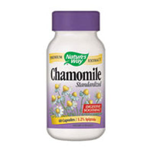 Chamomile Standardized Extract 60 Caps by Nature's Way (2584004001877)