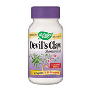 Devil's Claw Extract,90 Caps by Nature's Way (2584004690005)