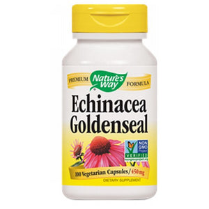 Echinacea Goldenseal ORGANIC COMBO,100 CAP by Nature's Way (2584004952149)