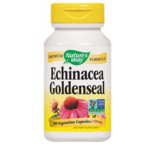 Echinacea Goldenseal ORGANIC COMBO, 100 CAP by Nature's Way