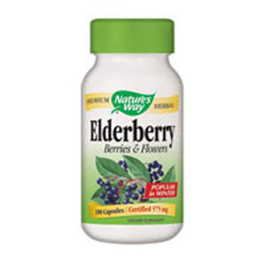Elderberry 100 Caps by Nature's Way (2584005083221)