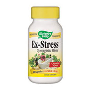 Ex-Stress 100 Caps by Nature's Way (2584005214293)