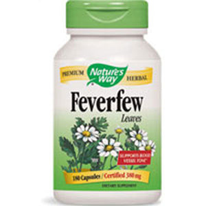 Feverfew 180 Caps by Nature's Way (2584005509205)