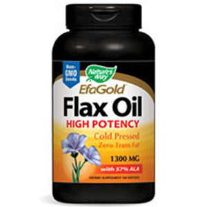 Flax Seed 100 Softgels by Nature's Way (2584005607509)
