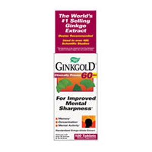 Ginkgold 100 Tabs by Nature's Way (2584006852693)