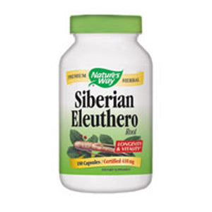 Siberian Eleuthero 100 Caps by Nature's Way (2584007147605)
