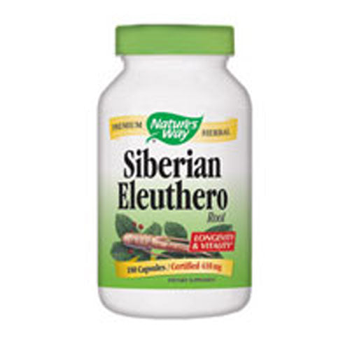 Siberian Eleuthero 100 Caps by Nature's Way