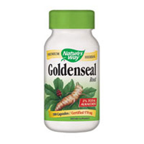 Goldenseal Root 100 Caps by Nature's Way