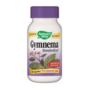 Gymnema Standardized Extract 60 Caps by Nature's Way (2584007704661)