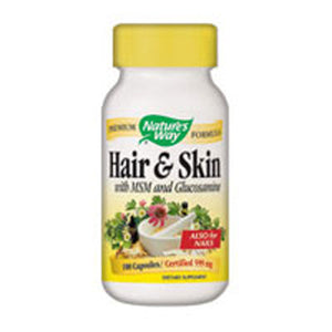 Hair & Skin Formula 100 Caps by Nature's Way (2584007770197)