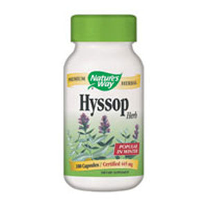 Hyssop 100 Caps by Nature's Way (2584008228949)
