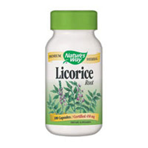 Licorice Root 100 Caps by Nature's Way (2584008654933)