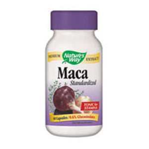 Maca EXTRACT STANDARDIZED, 60 CAP by Nature's Way (2584008720469)
