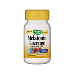 Melatonin Sublingual 100 Lozenges by Nature's Way (2584008982613)