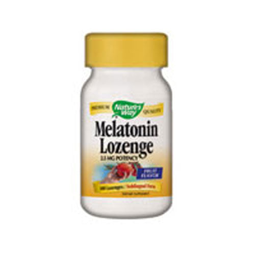 Melatonin Sublingual 100 Lozenges by Nature's Way