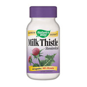Milk Thistle Standardized Extract EXTRACT,60 CAP by Nature's Way (2584009113685)