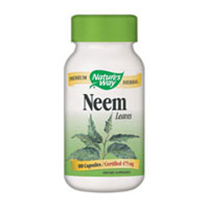 Neem 100 Caps by Nature's Way (2584009277525)
