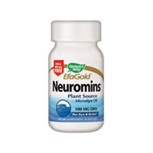 Neuromins Vegetarian DHA 60 Caps by Nature's Way (2584009343061)