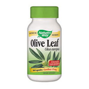 Olive Leaf 100 Veg Capsules by Nature's Way (2584009506901)