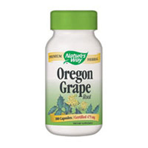 Oregon Grape Root 90 Caps by Nature's Way (2584009572437)