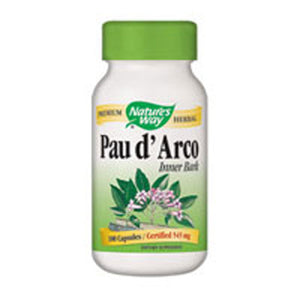 Pau D'Arco 100 Caps by Nature's Way (2584009801813)