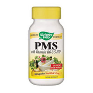 PMS with B6 & other B-Vitamins 100 Caps by Nature's Way